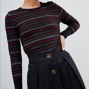 ASOS shimmer sweater